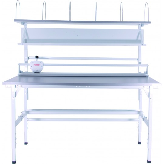 Packing station bench units